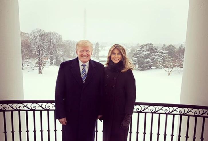 Donald Trump and Melania Trump - 20 years gap