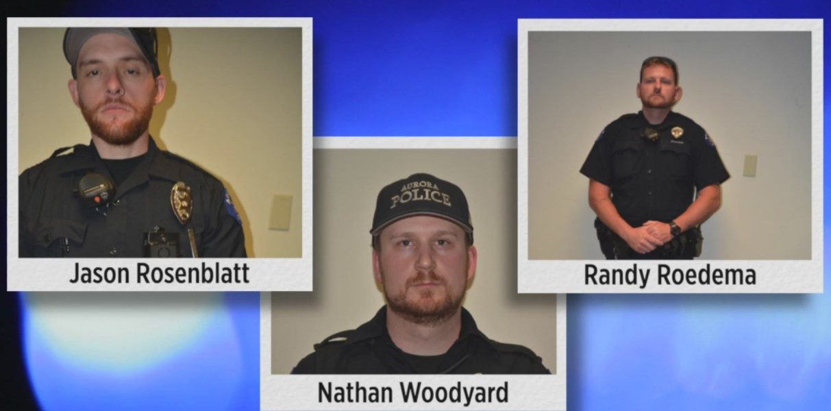 Elijah McClain Police officers
