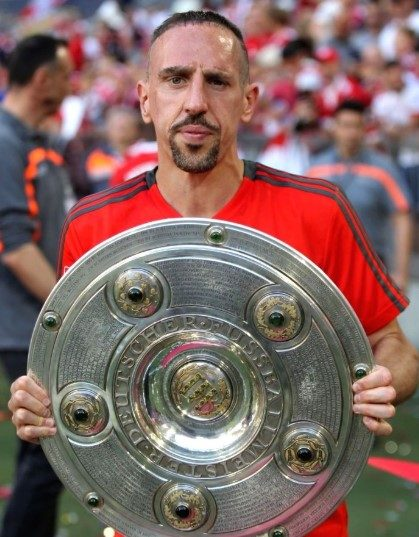 Footballer Franck Ribery