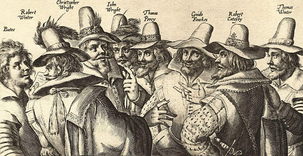 Guy Fawkes consprators