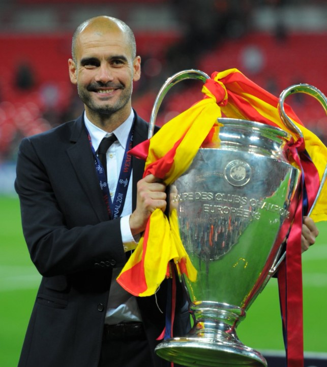 Managers Pep Guardiola