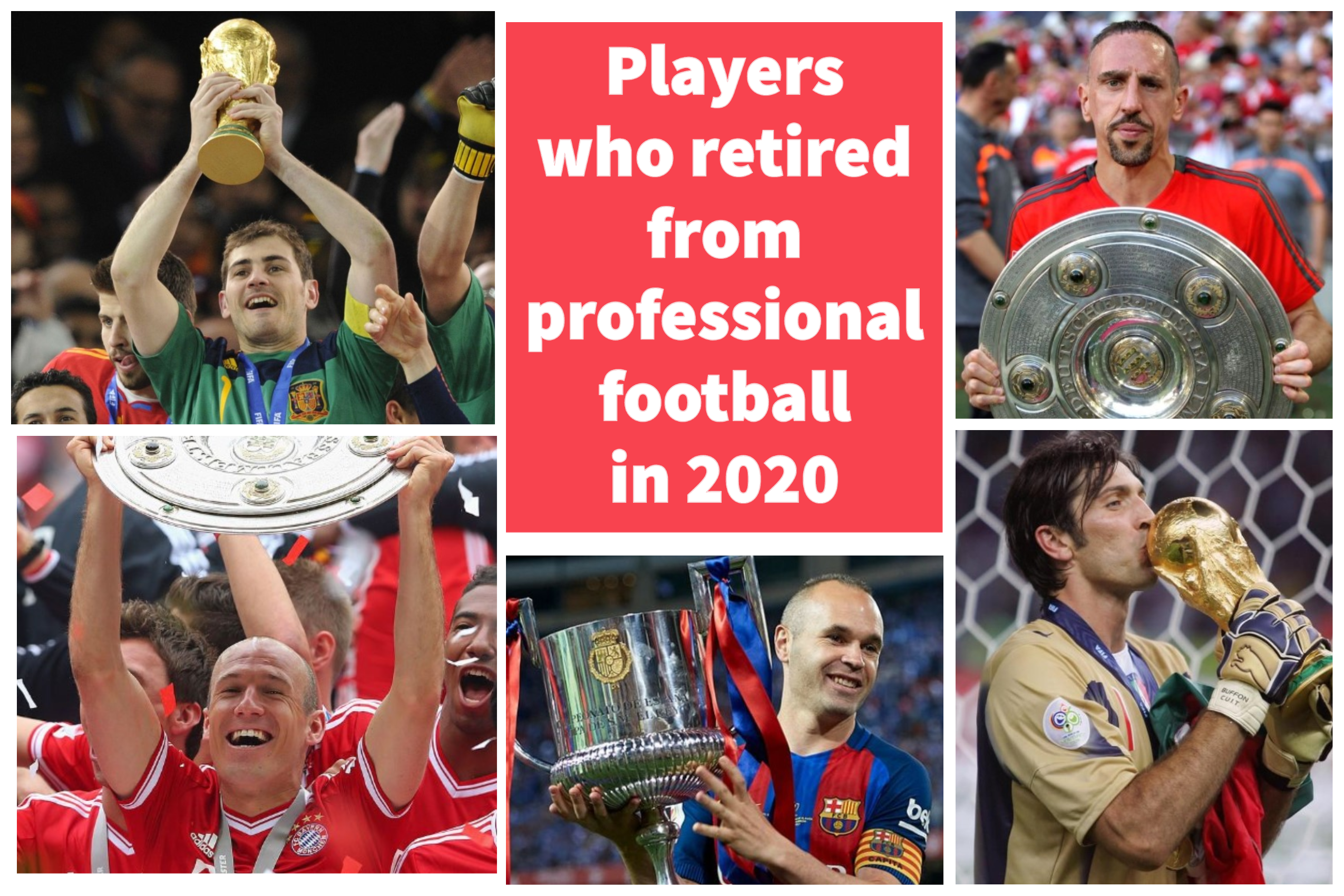 Players who retired from professional football in 2020