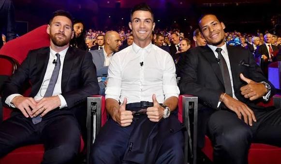Shortlist – Lionel Messi, Cristiano Ronaldo, Virgil van Dijk