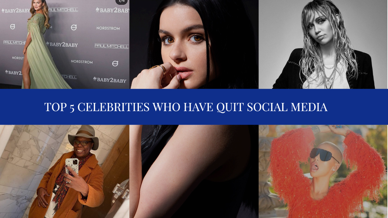 Top 5 Celebrities Who Have Quit Social Media
