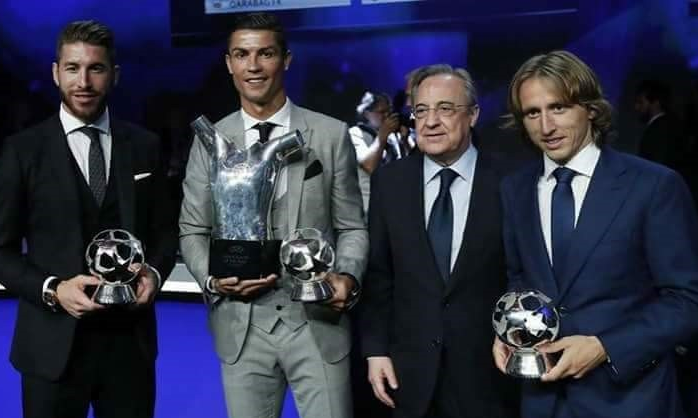 UEFA Award Ceremony