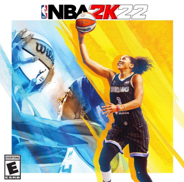 Candace Parker makes history with NBA 2K cover