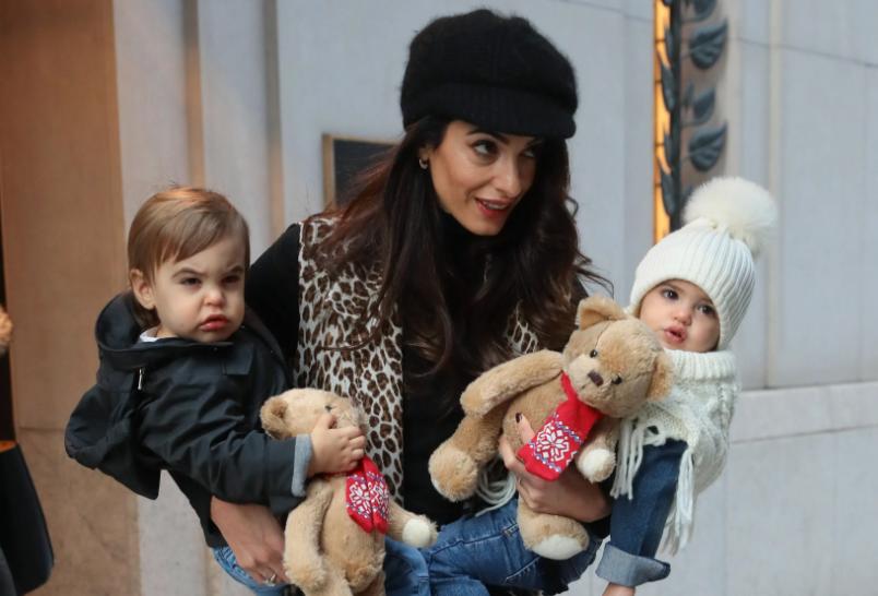 Amal Clooney Twins Kids
