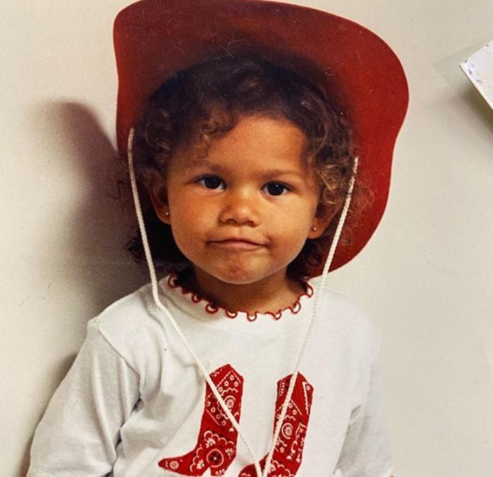 zendaya young