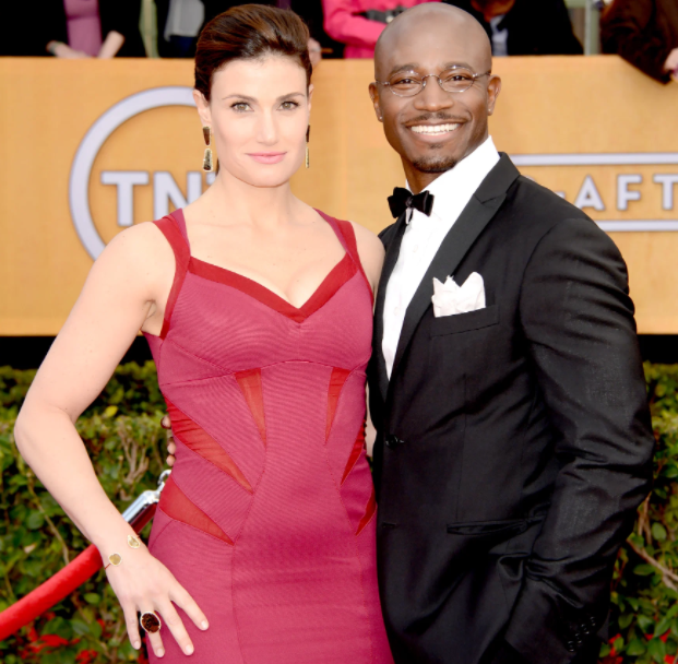 Taye Diggs and his ex-wife, Idina Menzel
