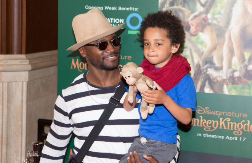Taye Diggs and his son