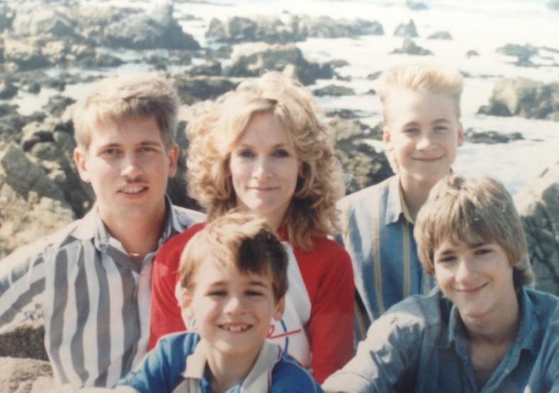 Dustin Lance Black family