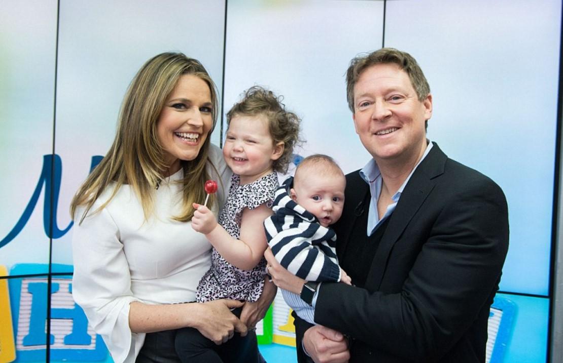 Savannah Guthrie family