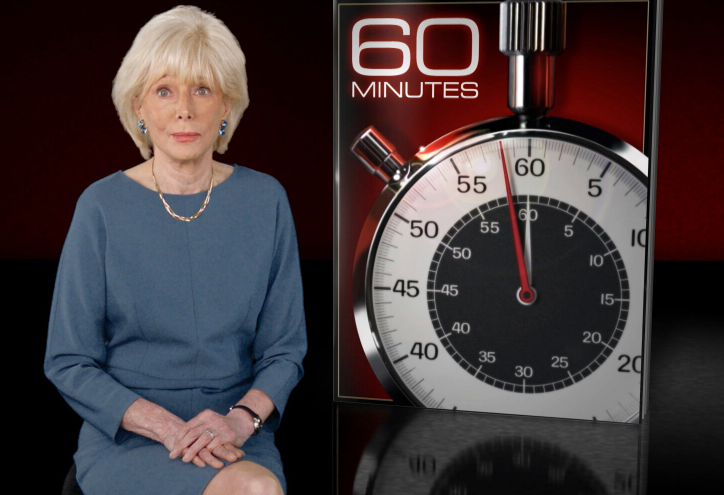 Lesley Stahl, reporter for CBS's '60 Minutes'