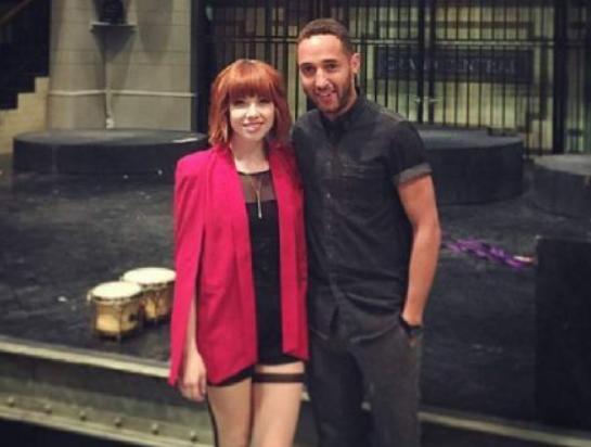 Carly Rae Jepsen and her boyfriend David Larkins