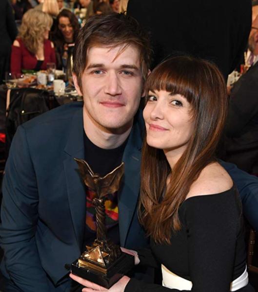Bo Burnham and his girlfriend, Lorene Scafaria