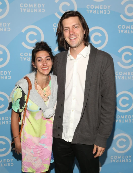 Trevor Moore and his wife, Aimee Carlson