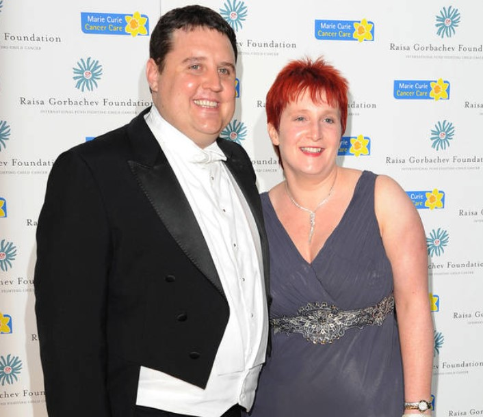 Peter Kay Wife