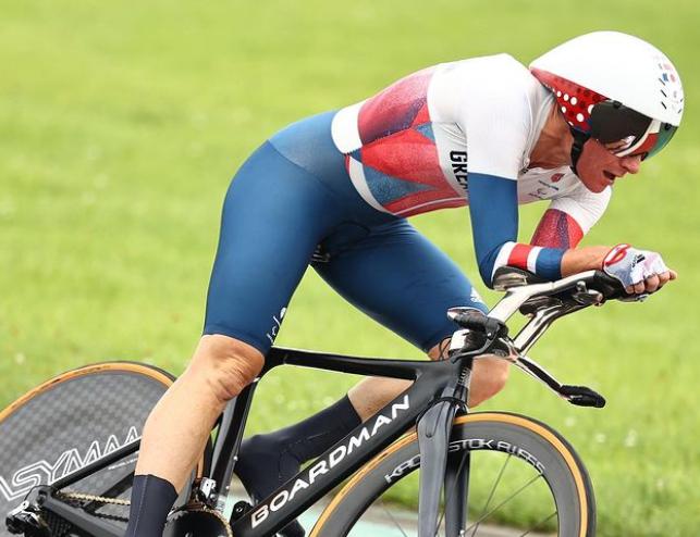 Sarah Storey, British Cyclist