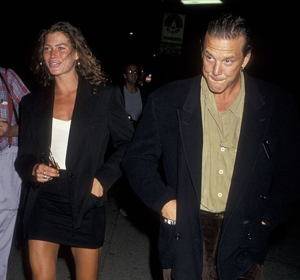 Mickey Rourke second wife