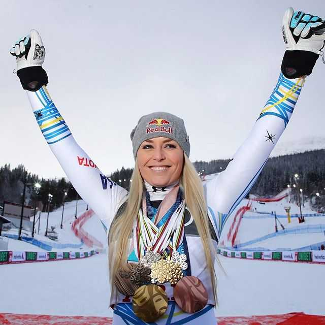 American Skiers Lindsey Vonn