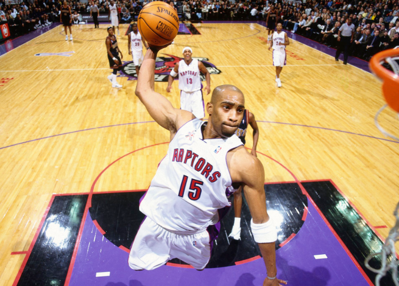 Vince Carter Scoring the ball