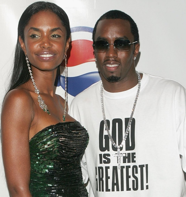Kim porter and Diddy