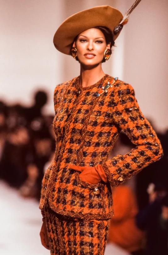 Linda Evangelista is referred as 'the supermodel's supermodel'