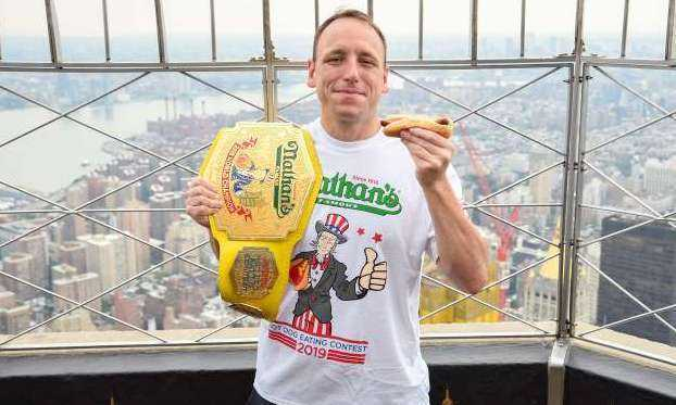 Joey Chestnut Records