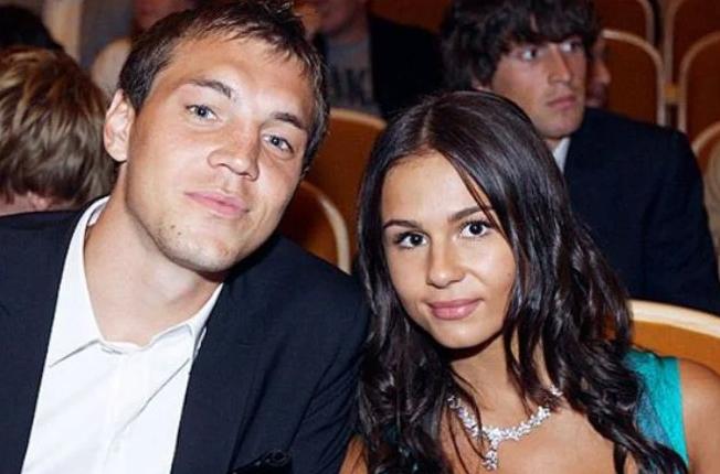 Artem Dzyuba's wife, Kristina Dzyuba