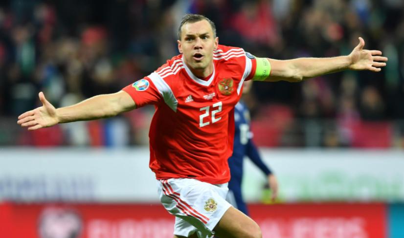 Professional Russian Footballer, Artem Dzyuba