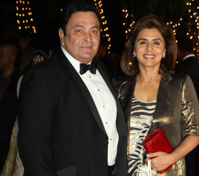 Rishi Kapoor Wife