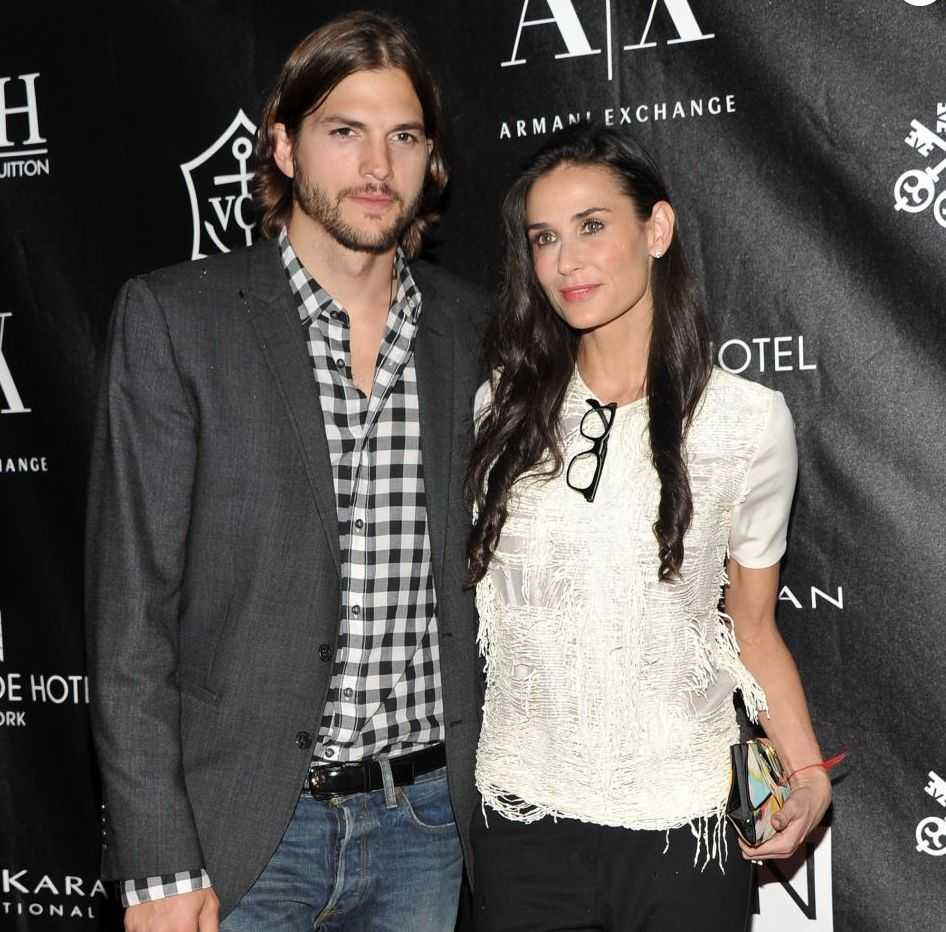 Ashton Kutcher Ex Wife