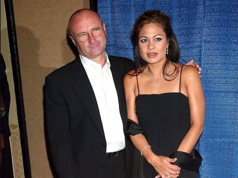 Phil Collins wife