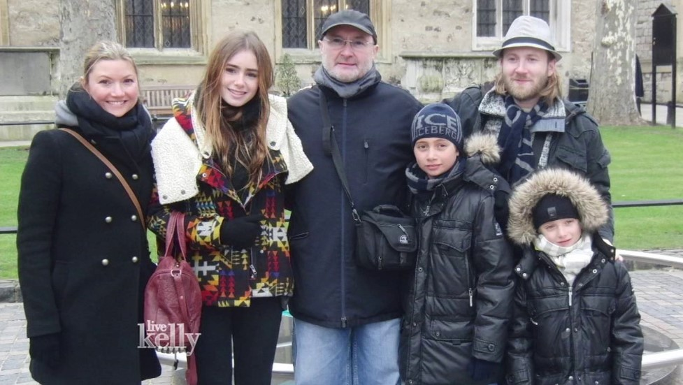 Phil Collins family