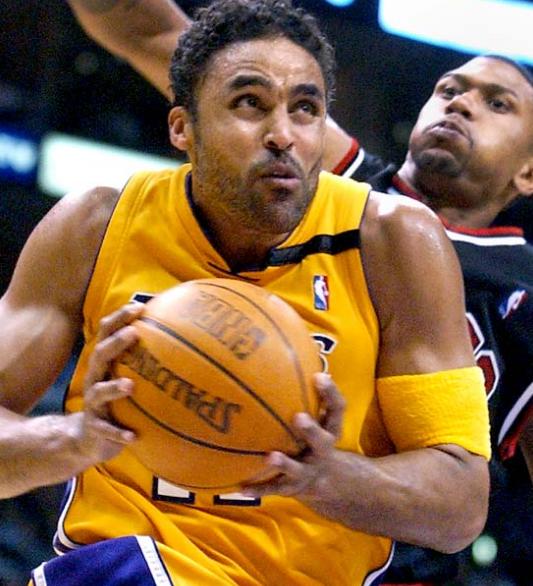Rick Fox Playing Basketball