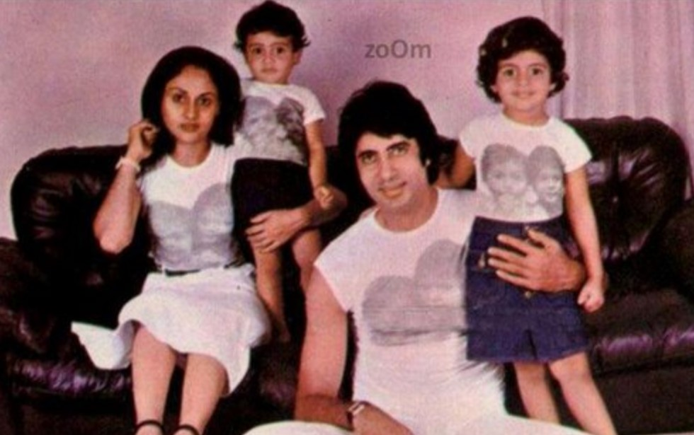 Amitabh Bachchan kids