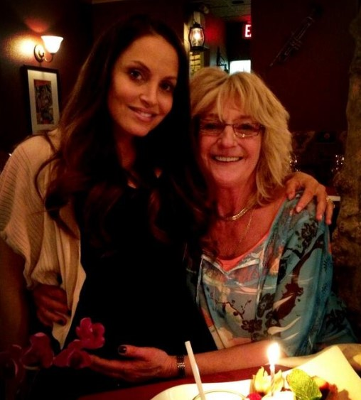 Trish Stratus mother