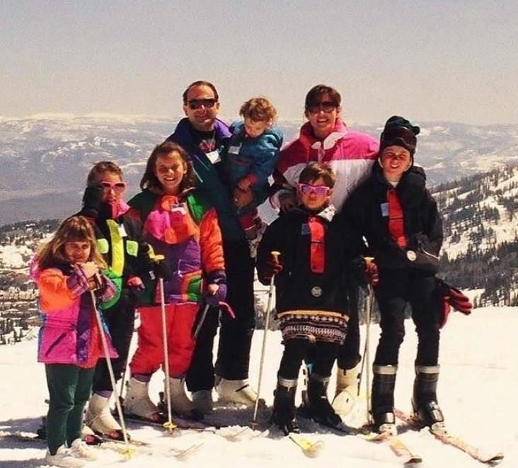Keleigh Teller family