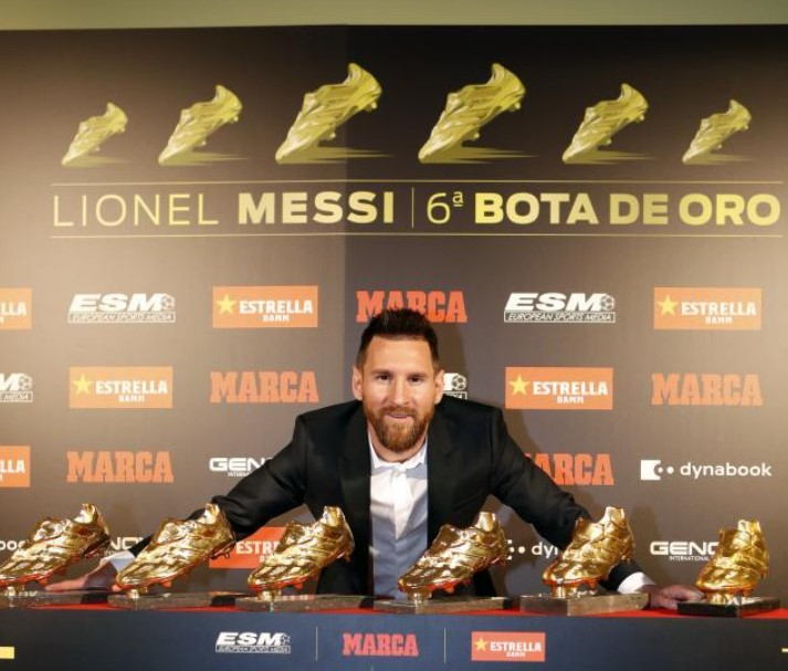 Lionel Messi Golden Boots