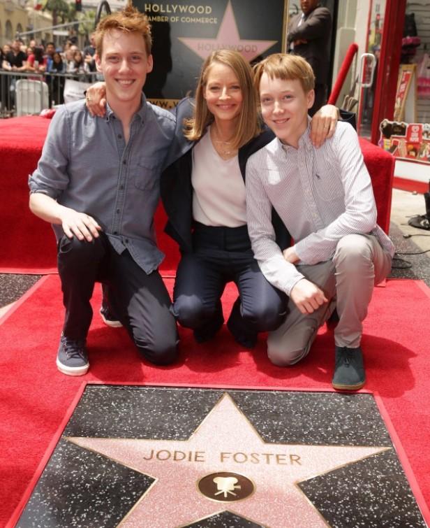 Jodie Foster kids