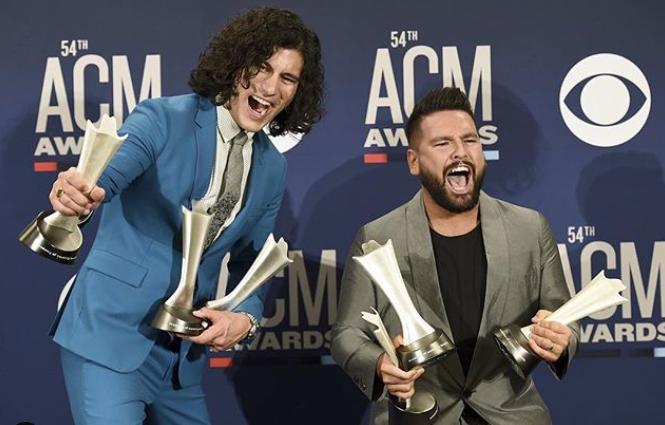 Scooter Braun ACM Awards