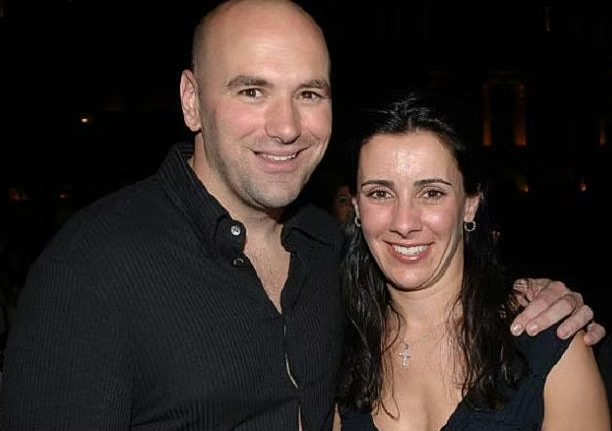 Dana White with his wife, Anne White