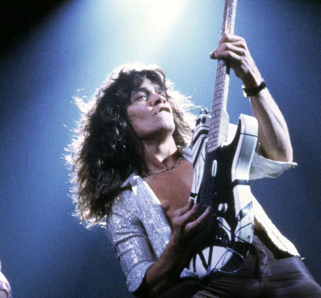 Eddie Van Halen, a famous musician and songwriter