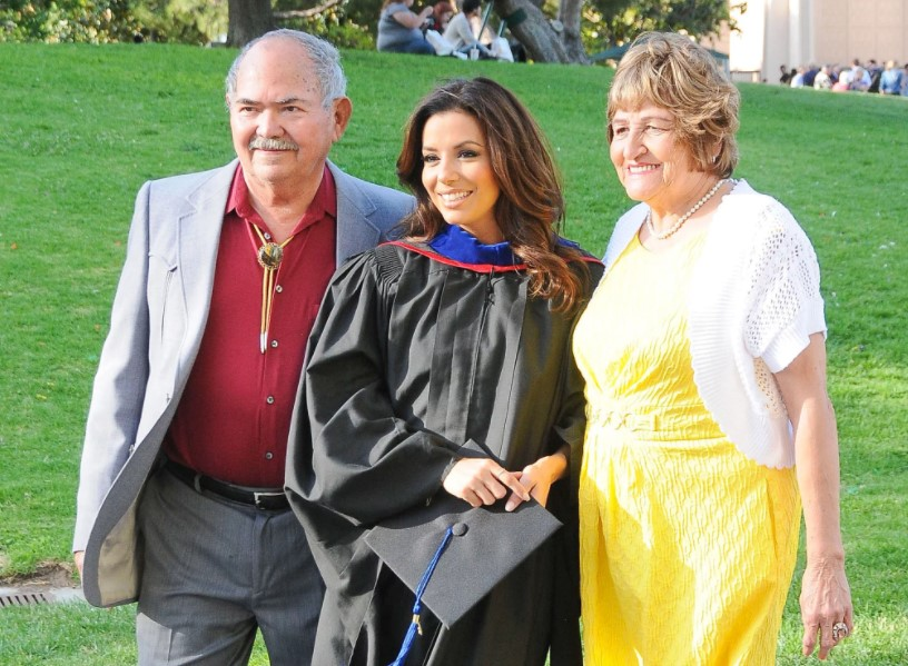 Eva Longoria parents