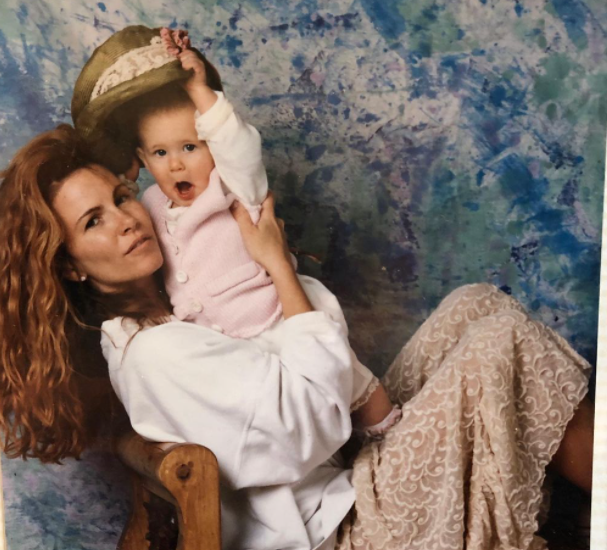 Tawny Kitaen and her daughter, Wynter
