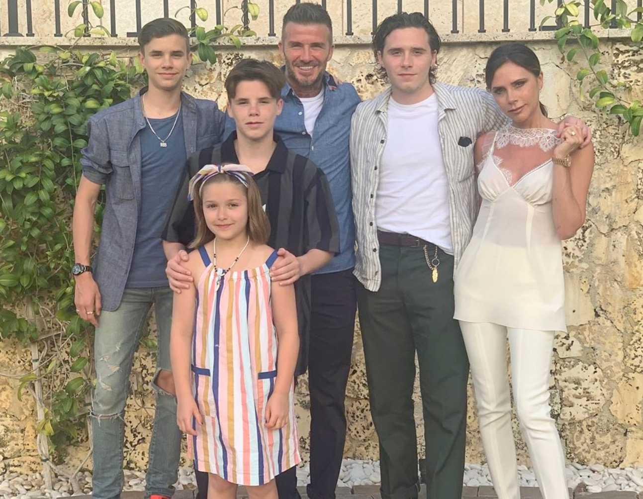 Victoria Beckham Children
