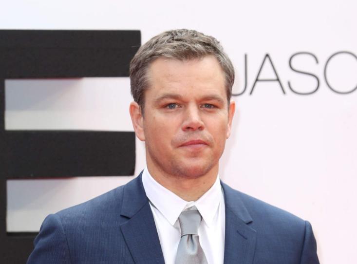 American actor, Matt Damon