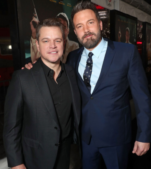 Matt Damon and Ben Affleck wrote and starred in Good Will Hunting