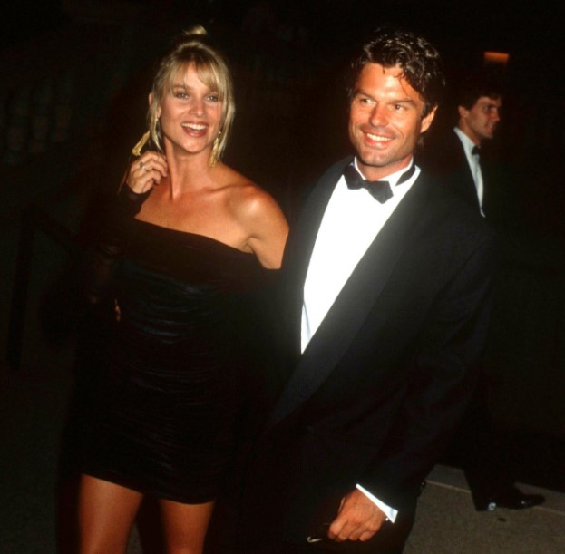 Nicollette Sheridan Harry Hamlin