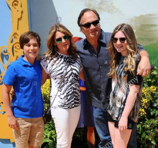 Jim Belushi family